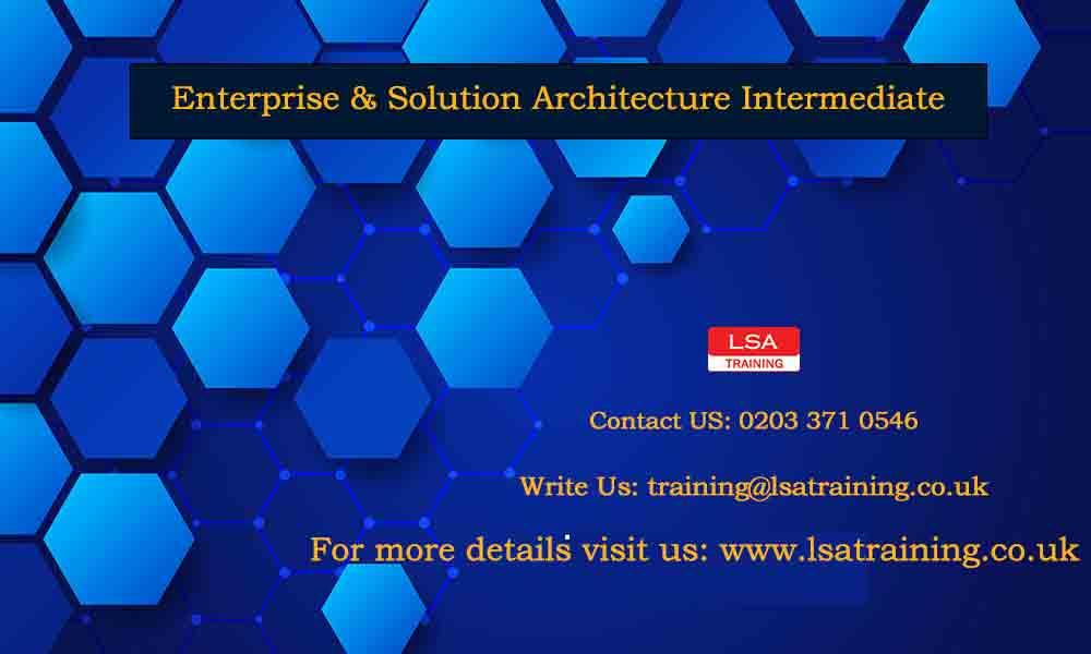 Enterprise & Solution Architecture Intermediate
